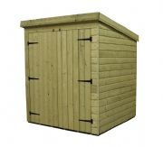 Pent Sheds With Double Doors